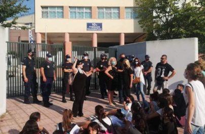 """Ανακοίνωση δημοτικής παράταξης """"Συνεργασία για την Καλαμαριά"""" για τα γεγονότα αναφορικά με το 10ο γυμνάσιο Καλαμαριάς"""