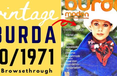 Περιοδικό Burda: Το περιοδικό της μόδας από το 1950