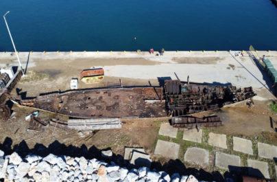 Χαλκιδική: Ολοκληρώθηκε Η Ανέλκυση Του Πλοίου 'Ελίζαμπεθ'