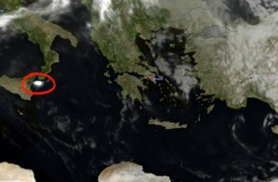 Η τέφρα από το ηφαίστειο της Αίτνας ταξίδεψε στη Μεσόγειο με πορεία προς την Ελλάδα(ΕΙΚΟΝΕΣ)